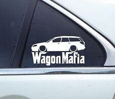 Lowered WAGON MAFIA sticker - for Subaru Legacy GT (BP, 2003-2009)