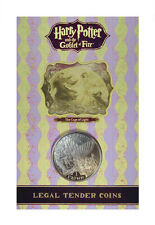 """2005 Harry Potter Isle of Man Cage of Light """"Second Task"""" Crown Coin Bu Ogp"""