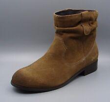 Clark's Women's Khaki Suede Boots size UK 5.