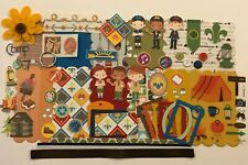 Boy Scouts Scouting Cub Scout Chipboard Mini Book Album DIY Kit Scrapbooking