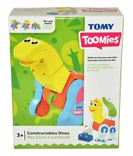 Tomy Toomies Constructables Dinos Mix & Match Construction Toy [Ages 3+]