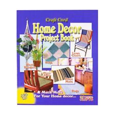 Craft Cord Home Décor Project Book for Macramé Diy Wall Hangings, Rugs & More