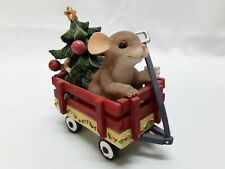 """Charming Tails """"All Ready To Get Christmas Rolling"""" In Excellent Condition"""