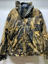 Columbia Interchange System PFG Jacket 3 In 1 Hood Timberwolf Camo Hunting Large