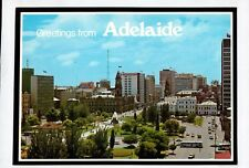 D4223cgt Australia SA Adelaide Victoria Square from Police Building postcard