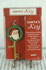 Santa'S Key Ornament New In See Thru Gift Box Made By Ganz~Free Ship In Us