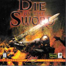 Die by the Sword 3D Adventure & Sword Combat PC CD-ROM Interplay Win95  1998