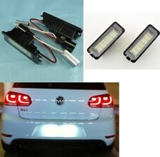 2x Eclairages Feux Plaque immatriculation led VW Golf Eos Passat Polo Scirocco