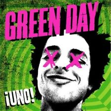 GREEN DAY ¡Uno! PR CD 2012 Reprise Records Gold Foil Promo Stamp promotional