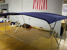 "Houseboat Bimini Top 10' x 8'  Sunbrella - 1.25"" Frame Front Braces."