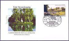 BRD 2002: Gartenreich Dessau-Wörlitz! FDC mit der selbstklebenden Nr. 2277! 1704