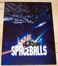 Spaceballs Official Movie Program 1987 Mel Brooks RARE Press Kit Collectible