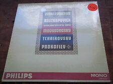 Vishnevskaya/Rostropovich MUSSORGSKY/TCHAIKOVSKY - Philips PHM 500/021 SEALED