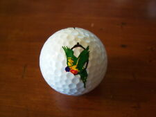 LOGO GOLF BALL-COLORFUL GREEN,YELLOW BIRD!! NEW!!!
