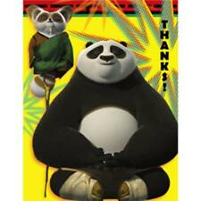 Kung Fu Panda 2 Thank You Cards with Envelopes 8 Count Birthday Party Supplies