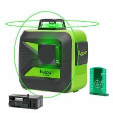 Huepar Pro Baulaser 602CG Selbstnivellierener 2D mit Lithiumbatterie