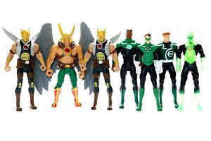 DC Universe Infinite Heroes Crisis Hawkman & Green Lantern Corps USED Lot of 7