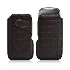 Housse coque étui pochette style croco pour Samsung Player 5 S5560