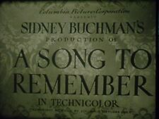 16 MM A Song To Remember 1945  Cornel Wilde Merle Oberon Paul Muni Nina Foch