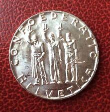 Suisse -  Rare et Magnifique monnaie de 5 Francs 1941 -
