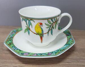 Villeroy & Boch V&B Heinrich Amazona Kaffeetasse mit Untertasse / Unterteller