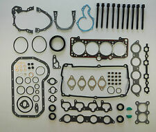 FULL ENGINE SUMP HEAD GASKET SET BOLTS GOLF CORRADO JETTA GTi 1.8 16V KR PL ADL