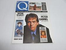 Q Magazine 32 [May 89] David Crosby, Peter Gabriel, Sting, Robert Smith/The Cure