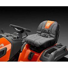 New listing Husqvarna Tractor Seat Cover Riding Mower Accessories, Orange/Gray