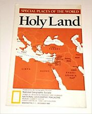 National Geographic Map - Special Places of the World - Holy Land, December 1989