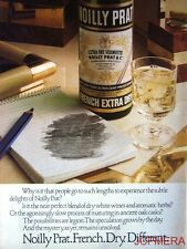 1978-9 NOILLY PRAT 'French Extra Dry' Vermouth Advert #3 - Original Print AD
