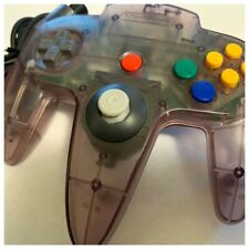 Nintendo 64 Authentic Controller | Clear Purple | GameCube Joystick Upgrade N64