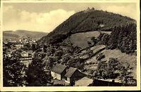 Bad Lauterberg  im Harz Postkarte ~1950/60 Blick auf den Hausberg vom Kummelweg