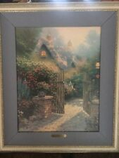 Thomas Kinkade Hidden Cottage II Signed and numbered Lithograph, 567/1480 lovely