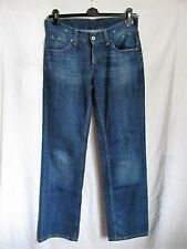 Ladies straight slouch Levi's 604 cotton blue jeans size W28 L34 great co