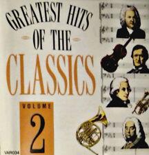 GREATEST HITS OF THE CLASSICS VOL 2 – CD RIMSKY-KORSAKOV DUKAS BEETHOVEN DVORAK