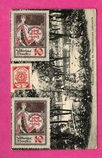 LATVIA LETTLAND USED 1920 POSTCARD 641