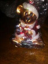 Boyds Bears Resin S C Santa Glass Ornament Glass Christmas 391000 Rfb