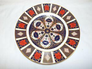"Excellent Royal Crown Derby Old Imari 1128 10.5"" dinner plate,c1978"