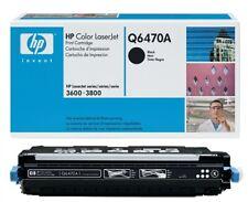 HP Q6470A Black  Original Toner Cartridge for HP Color LaserJet 3600,3800