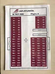 Air Atlanta B727-100 Seating Chart