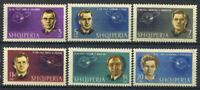 Albanien 1963 Mi. 757A-762A Postfrisch 100% Raum, Kosmonauten