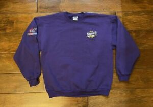 Larry Foyt #14 AJ Foyt Harrahs Racing Sweatshirt Jacket Mens Size Large NASCAR
