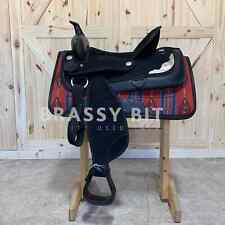 "16.5"" Synthetic Western Saddle"