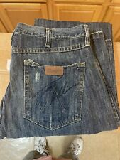 Trace Adkins Signed Wrangler 77MWZ Jeans