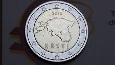 2 euro 2018 fdc ESTONIA Estonie Estland Eesti Эстония 爱沙尼亚 Estija エストニア Igaunija