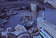 Original 35mm Slide 1962 Harbour Scene & Boats, Newquay Cornwall UK