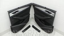 BMW G31 Türverkleidungen Seitenrollos Rollo Sonnenrollo Türtafeln schwarz Leder