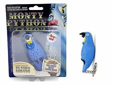 Talking Parrot Key Ring With Battery Charm Sketch Dead Fun Monty Python Gift