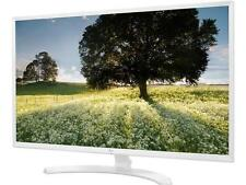 "LG 32MP58HQ-W White 31.5"" FHD IPS Widescreen LED Backlight Monitor 5ms 1920 x 10"