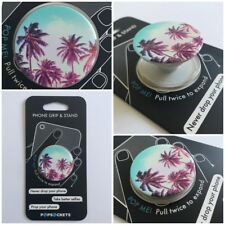 PopSockets Single Phone Grip PopSocket Universal Phone Holder 101230 PALM TREES